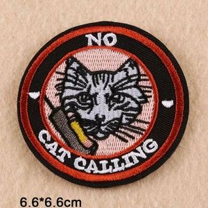 No cat calling patch